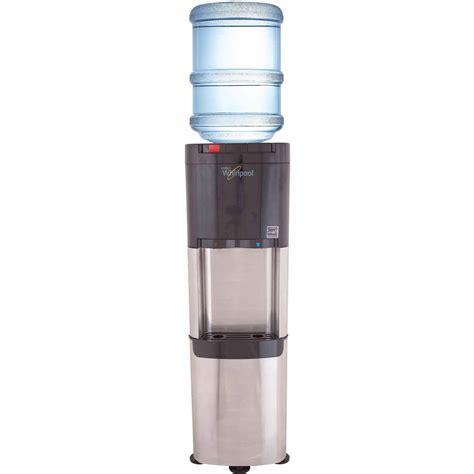 Water Jug Dispenser 2 Kran Kapasitas 13 8 Liter Delvonta Limited primo bottom load water dispenser stainless steel black 900130 walmart