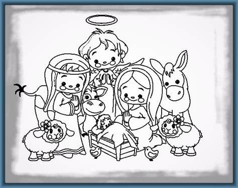 imagenes del nacimiento de jesus para pintar imagenes del nacimiento del ni 241 o jesus para colorear