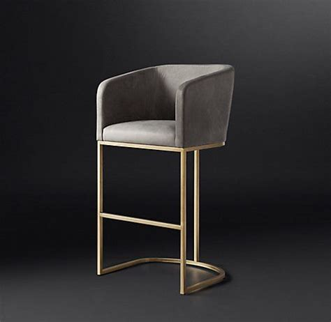 designer bar stool all bar counter stools rh modern furnishings