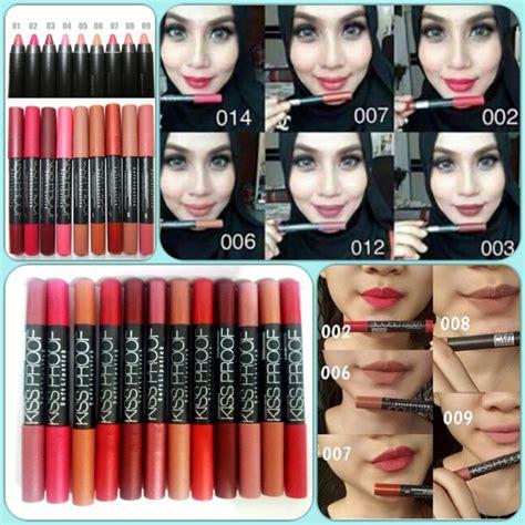 Proof 16 Kissproof Nomor Khusus 2040609101112131419 jual lipstik proof khusus nomor 16 baru produk