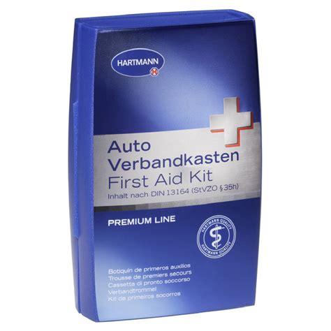 Verbandskasten Auto Apotheke by Hartmann Auto Verbandkasten Din13164 Prem Line Bl 1 St 252 Ck