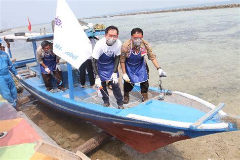 atasi pencemaran laut kepulauan seribu akzonobel