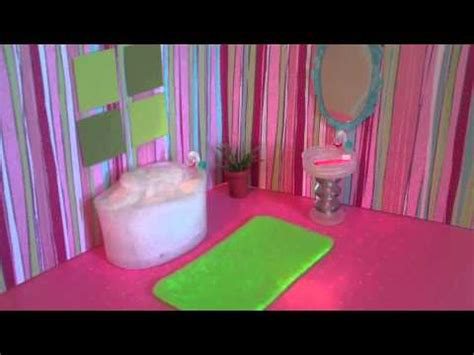 How To Make Lps Stuff Out Of Paper - how to make a mini doll bathroom for lalaloopsy or
