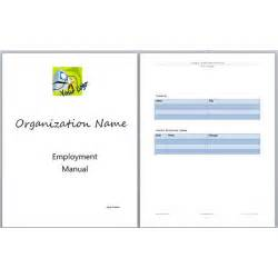 Manual Template by Microsoft Word Manual Template Basic And Employment
