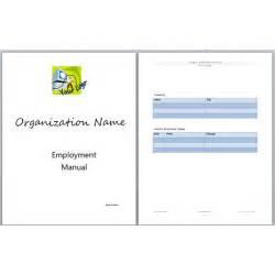 Pin sample training manual template on pinterest