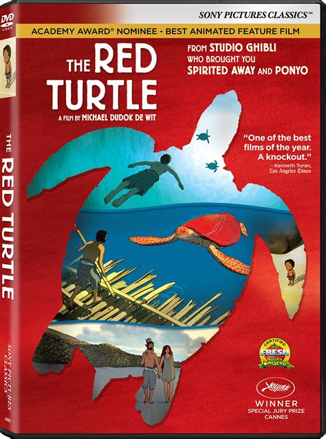 film ghibli blue ray the red turtle dvd release date may 2 2017