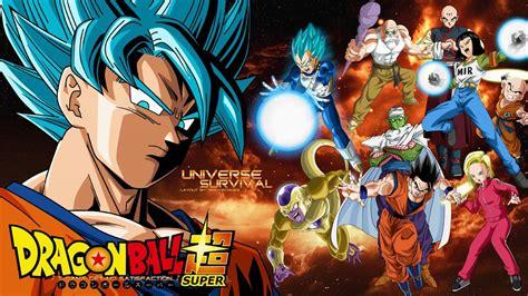 dragon ball universe wallpaper dragon ball super universe 7 survival wallpaper by