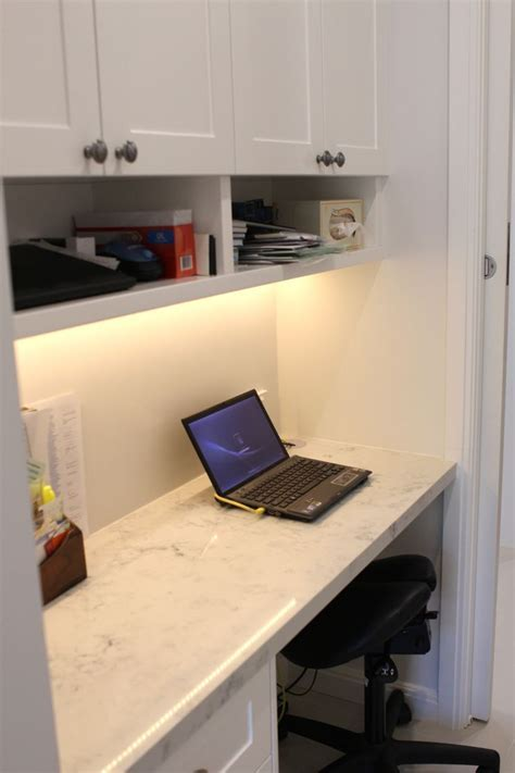 Mum's Study Nook. Built in to integrate with laundry area