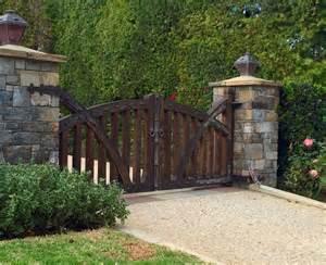 Driveway gates wood driveway gates tungsten royce