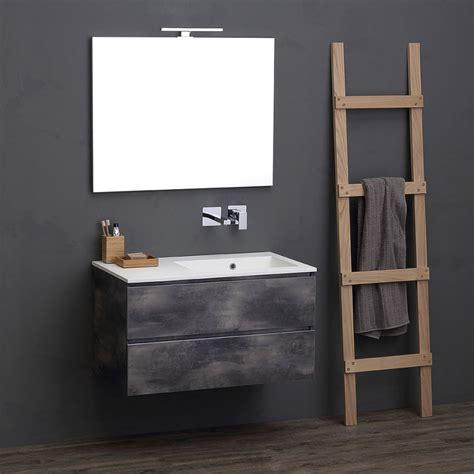 mobili bagno 90 cm mobile per bagno componibile 90 cm design industriale kv
