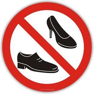 Schuhe Ausziehen by Aufkleber Bitte Schuhe Ausziehen 100mm Boot Yacht Keine