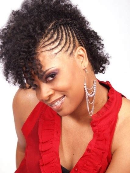 Black Hairstyles Braids Mohawk by Braided Mohawk Hairstyles And Updos