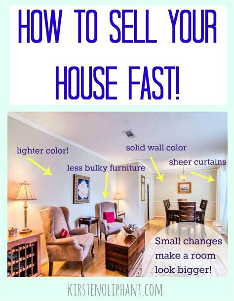 ways to sell a house fast tips to sell your house fast kirsten oliphant