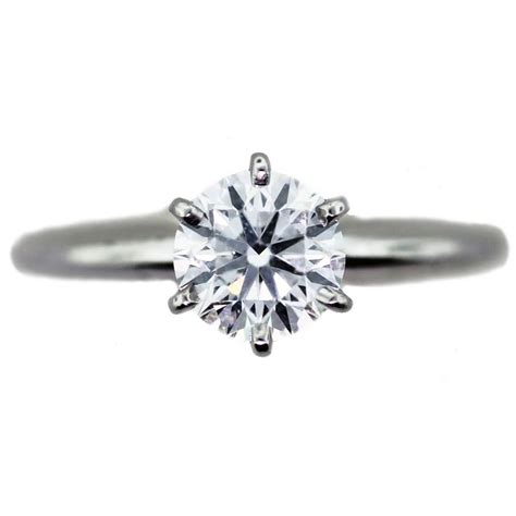 Solitaire Engagement wedding nail ideas to match your engagement ring