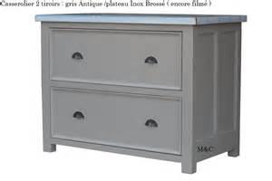 casserolier 2 grands tiroirs