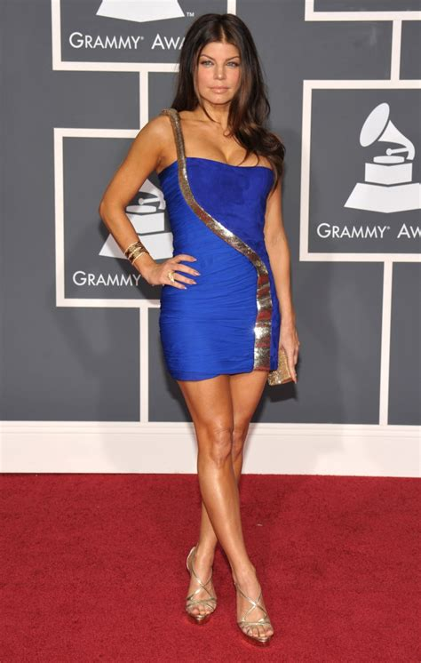 Grammy Awards Fergie by Fergie Arrives At The 52nd Annual Grammy Awards On Jan 31