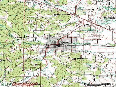 Dallas Oregon Map by Dallas Oregon Or 97338 Profile Population Maps Real