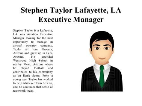 Of Louisiana At Lafayette Executive Mba by Stephen Lafayette La Executive Manager