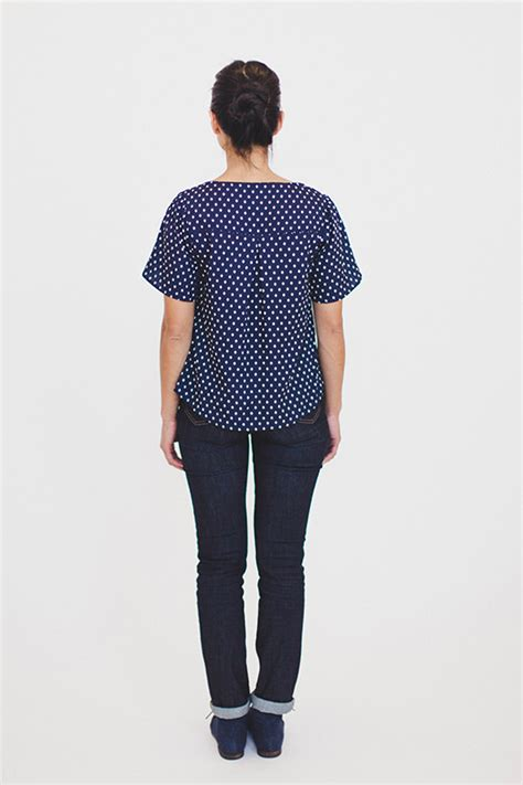Aster Blouse aster blouse from colette patterns now in stock the