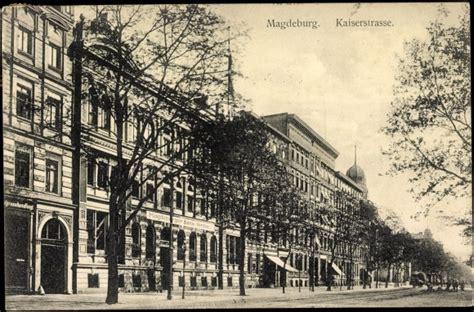 bank magdeburg ansichtskarte postkarte magdeburg bank verein in der