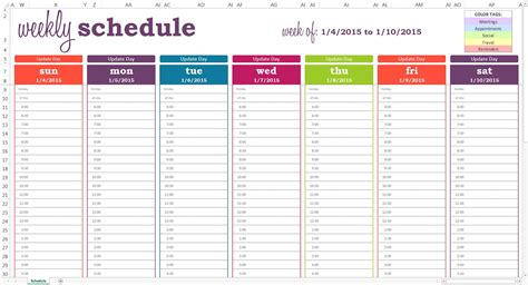 printable weekly planner with times calendar template with time slots online calendar templates
