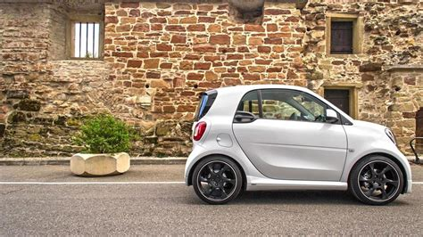 pimped out smart car smart fortwo tricked out by lorinser with more power and