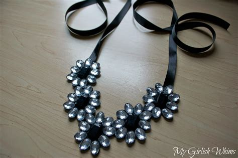 how to make jewelry easy diy rhinestone necklace no jewelry skills required