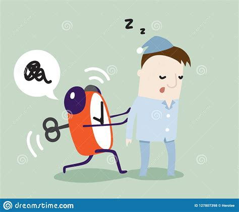 sleepyhead cartoons illustrations vector stock images