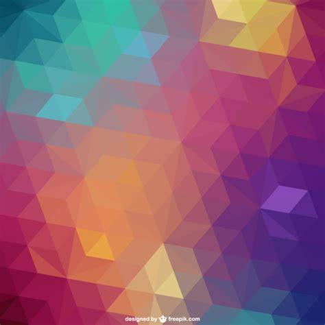 imagenes vectores de triangulos fondo de tri 225 ngulos de colores descargar vectores gratis