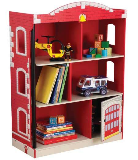station bookcase in shelves