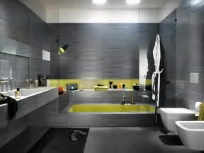 Charmant Idee De Peinture Pour Salle A Manger #4: idee-salle-de-bain-design-moderne-gris.jpg