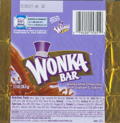 wonka bar wrapper to print free just b cause