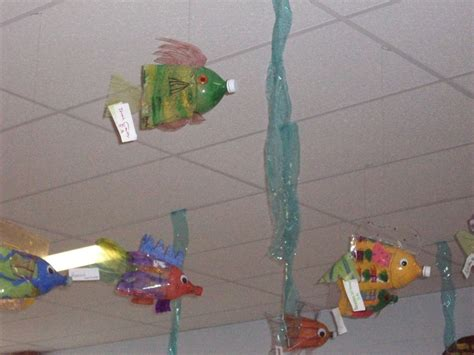art recycled water bottle bottle fish recycled art art lessons success