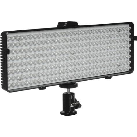 led photography lights amazon genaray led 6800 256 led daylight balanced on camera led 6800