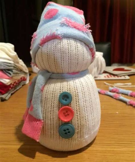 sock snowman how to make them how to make sock snowmen