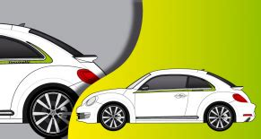 Racing Paradise Sticker by Stickers Vw
