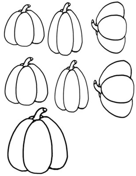 tall pumpkin coloring page how to draw tall pumpkin