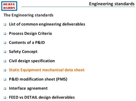design criteria for a l engineering standards vol 2