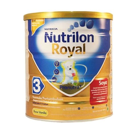 Formula Nutrilon Soya Jual Nutrilon Royal Soya 3 Vanila 700 Gr Harga