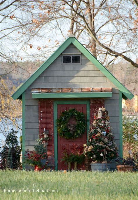 sprucing of the potting shed porch hometalk