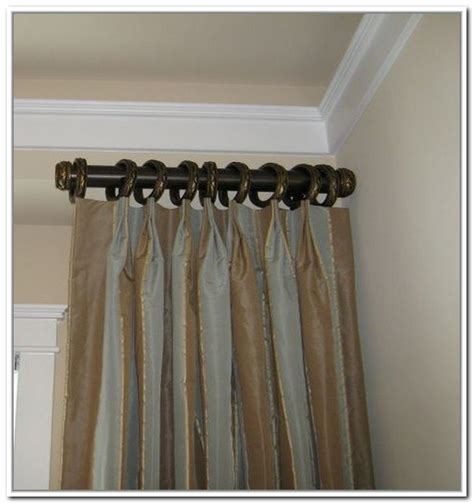 Short curtain rods extend your window design solution homesfeed