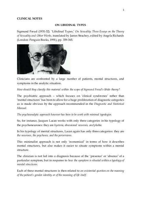 Sigmund Freud Essays by Sigmund Freud Essays