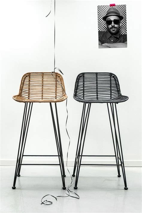 rattan bar stools black black rattan bar stool stools bar stools furniture