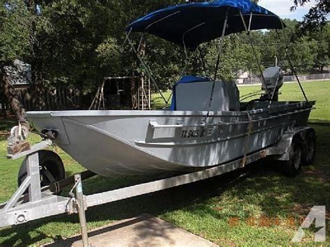 surplus bailey bridge boat for sale 18 1990 bailey bridge boat center console for sale in red