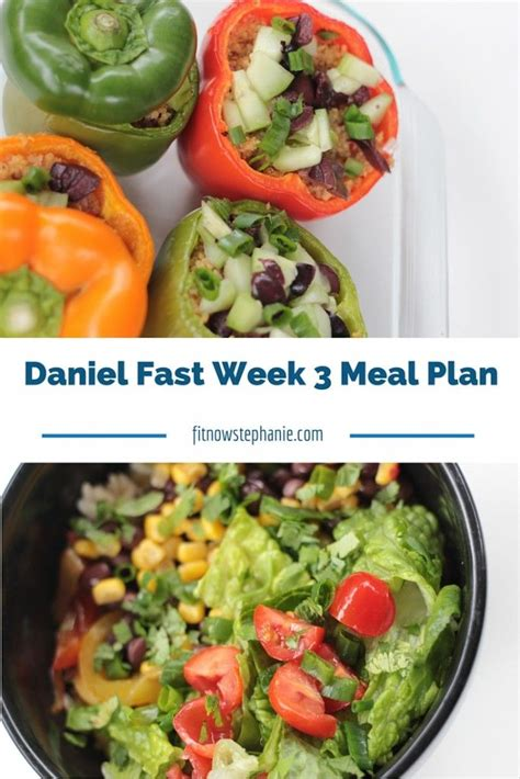 Daniel Plan Detox Breakfast Recipes by Recipes Shopping List And Meal Plan For Week 3 Of The