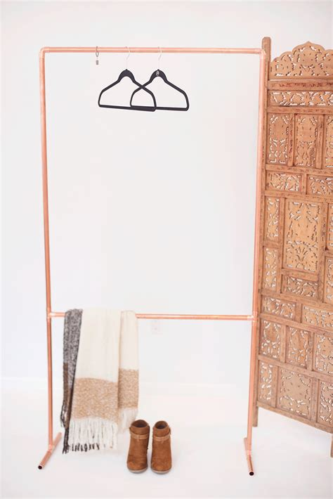 Make Your Own Garment Rack by Make Your Own Diy Copper Garment Rack Val Living