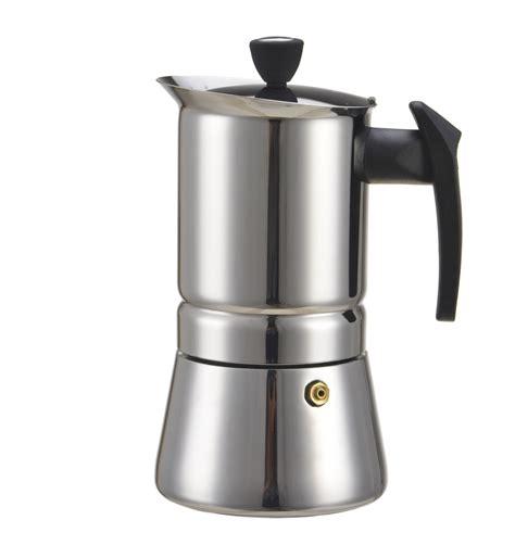 2016 New 450 ML, 9 Cup Stainless Steel Moka Stovetop Espresso Coffee Maker Latte Percolator