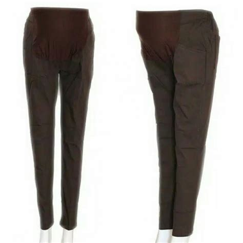 Celana Kerja Bahan Stretch celana kerja formal ada yg jumbo murah celana katun stretch ibuhamil