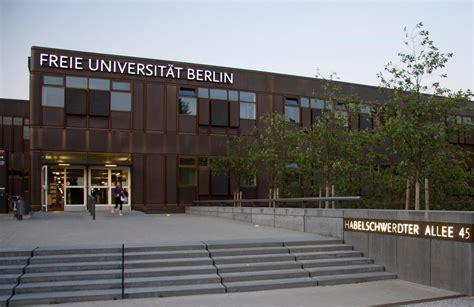 Fu Berlin Bewerbung Master Kunstgeschichte Studieren An Der Fu Berlin Embm Fernstudium Master Of Business Marketing Fachbereich