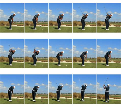 The Golf Swing - a frame by frame breakdown of tiger woods new look golf